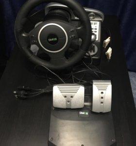 Продам PlayStation 3 500 gb c рулем и играми