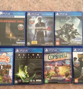 PlayStation4 Диски от 25.02