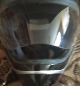 Шлем кросс с визиром mc 145 spike размер xl