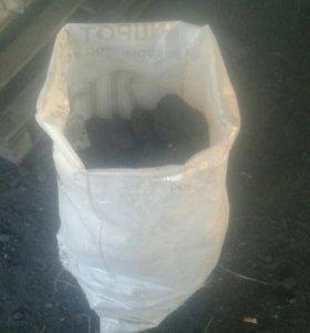Уголь мешок, тонна