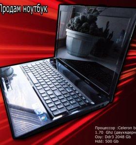Продаю работоспособный ноутбук
