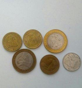 Меняюсь юбилейными монетами