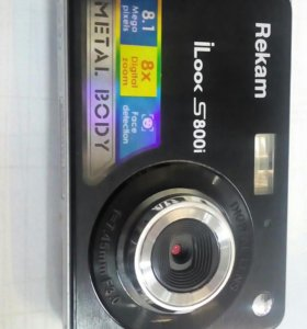 Фотоаппарат REKAM iLooS800i