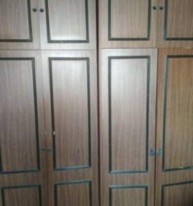 Гардероб два платяных шкафа для одежды