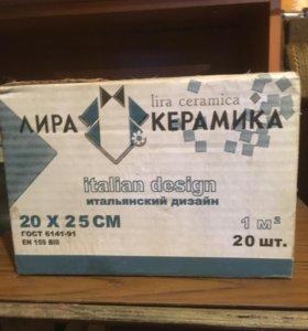 2 упаковки керамической плитки
