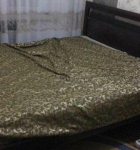 Продаю всю кровать с матрасом за 5 тышь срочно