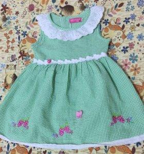 Платье 98+