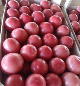 Розовые помидоры Pink Paradize