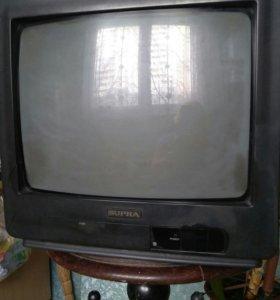 Телевизор б/у, работает