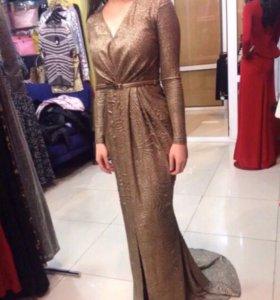 Турецкое вечернее платье