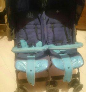 Продам детскую коляску трость для двойни