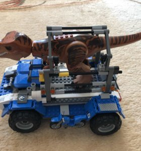Лего, парк юрского периода