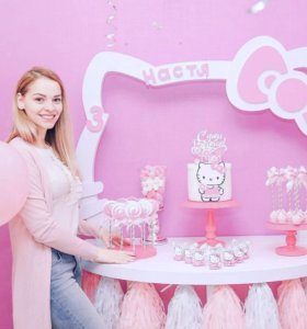 Кенди бар Hello kitty со сладостями