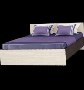 Кровать с матрасом 160*200!