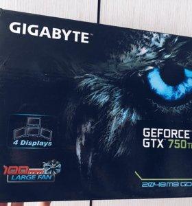 Gigabyte GTX 750 ti 2gb