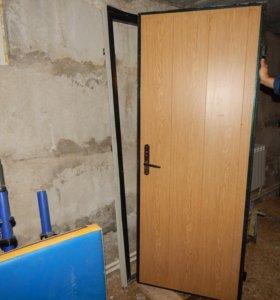 Двери - входная металл теплая