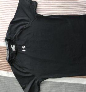 Термо футболка Under armor чёрная
