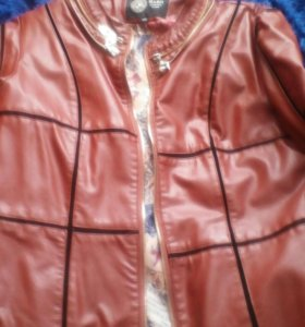 Курточка ,кожзам р xxl