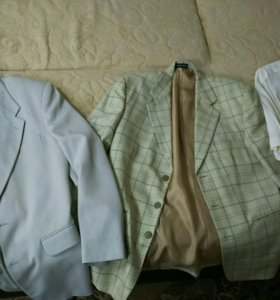 Пиджаки плюс рубашки цена за все