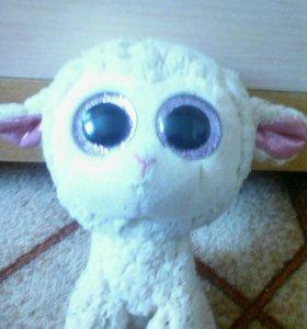 Игрушка для детей мягкая овечка