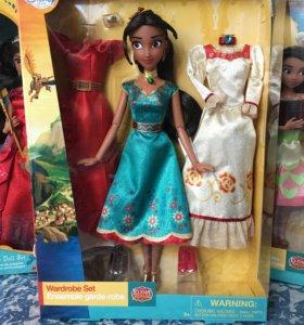 Кукла Елена из Авалора с платьями
