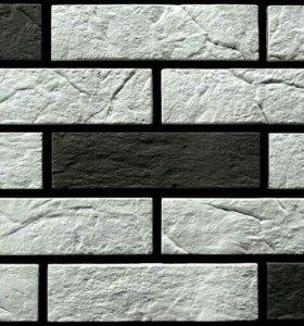 Декоративный камень из гипса. Классический кирпич