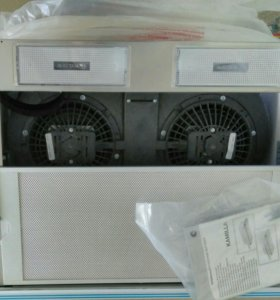Вытяжка кухонная KAMILA 600 INOX(2 матора)