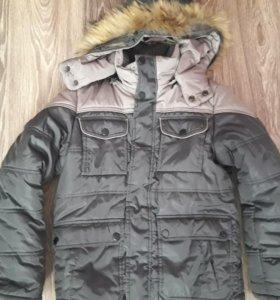 Куртка зимняя. Очень теплая.