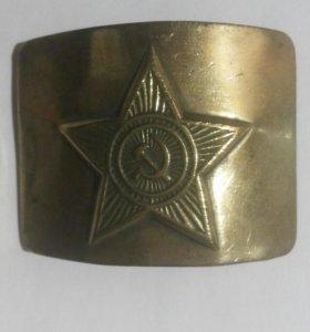 Солдатская бляха СССР
