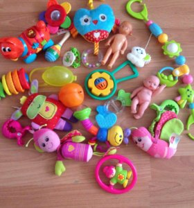Игрушки ребенку до года пакетом