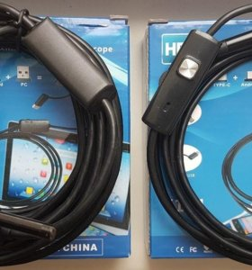 Эндоскоп жёсткий кабель 5,5 мм длина 1,2м до 5,2м