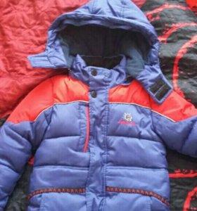Продам зимнюю куртку шапка в подарок
