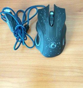 Проводная Оптическая USB Мышь