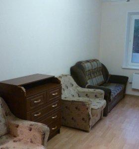 Квартира, 1 комната, 31.3 м²