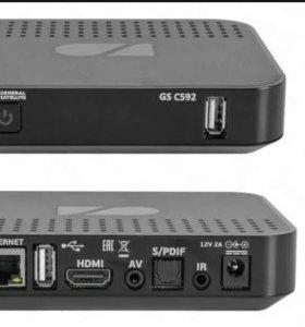 Триколор ТВ IP ресивер клиент GS C592