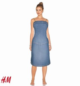 H&M сарафан джинсовый Размер 42-44