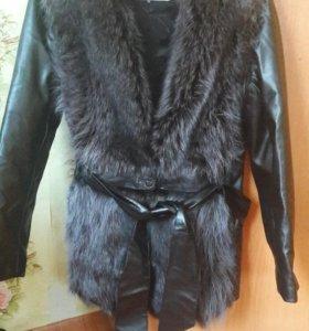 Куртка жилетка меховая