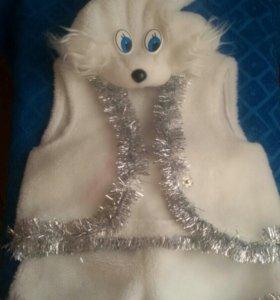 Новогодний костюм (заяц)