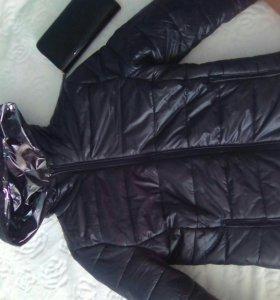 Куртка и клатч bershka
