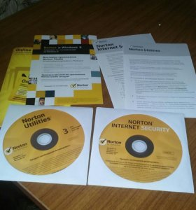 Антивирус Norton Internet Security 2013 (3 пк)