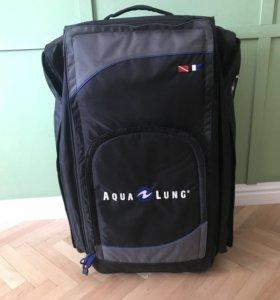 Чемодан- рюкзак для снаряжения аквалангистов