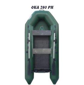 Лодка моторная Ока 280 РН с реечным настилом