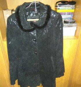 Куртка кожаная,женская