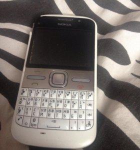 Телефон нокиа Е5 рабочий с клавиатурой