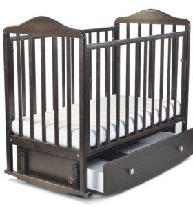Детская кроватка, матрас!