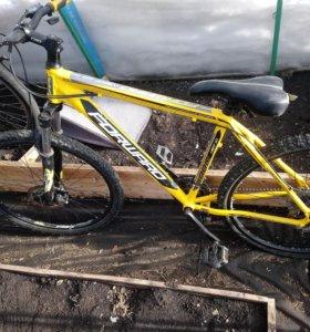Взрослый горный велосипед. Дисковые тормоза