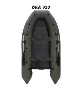 Лодка ПВХ моторная ОКА 320 (4-х местная)