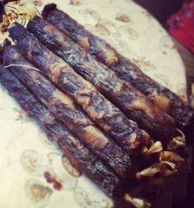 Казылык колбаса из конины, казы, с доставкой