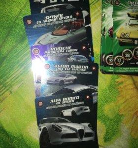 Карточки СуперГонки