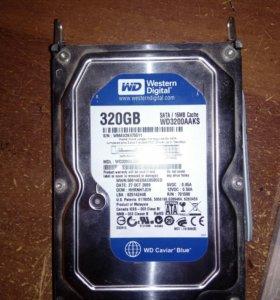 Жесткий диск 320 гб SATA
